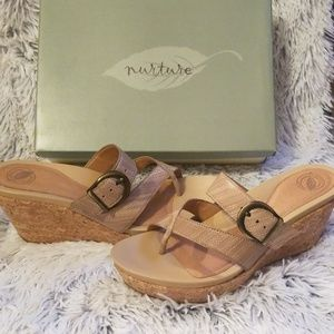 Nurture Wedge Sandals